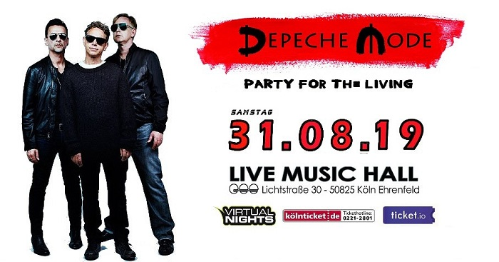 Depeche Mode Party News