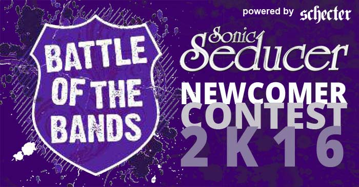 sonic seducer battle of the bands logo 2016