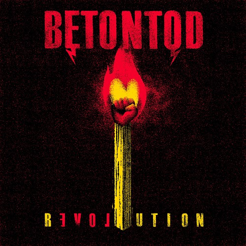 Betontod Revolution CD Cover
