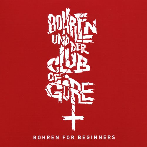 Bohren Der Club Of Gore Bohren For Beginners CD Cover