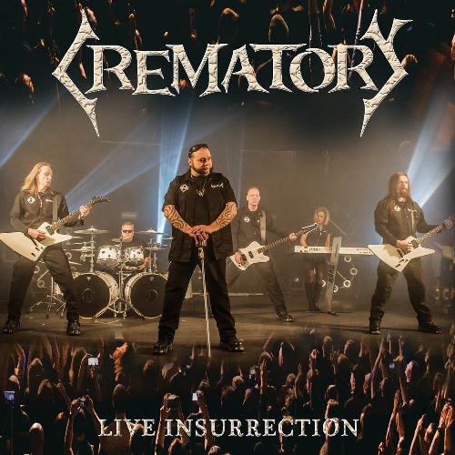 Crematory Live Insurrection CDDVD CD Cover