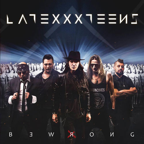 Latexxx Teens Be Wrong CD Cover