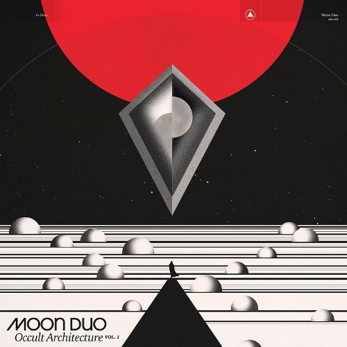 Moon Duo Occult Architecture Vol. 1 CD Cover