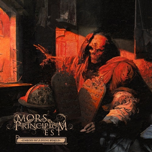 Mors Principium Est Embers Of A Dying World CD Cover