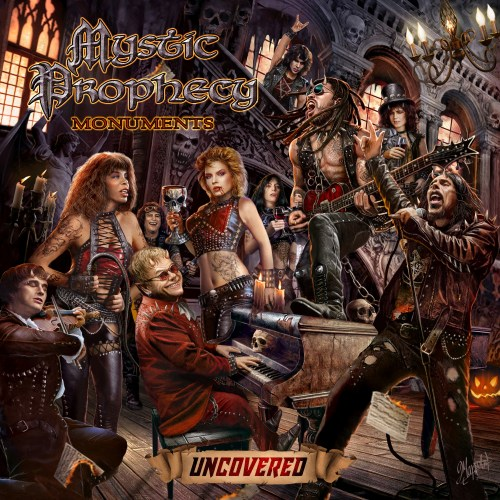 Mystic Prophecy Monuments Uncovered CD Cover