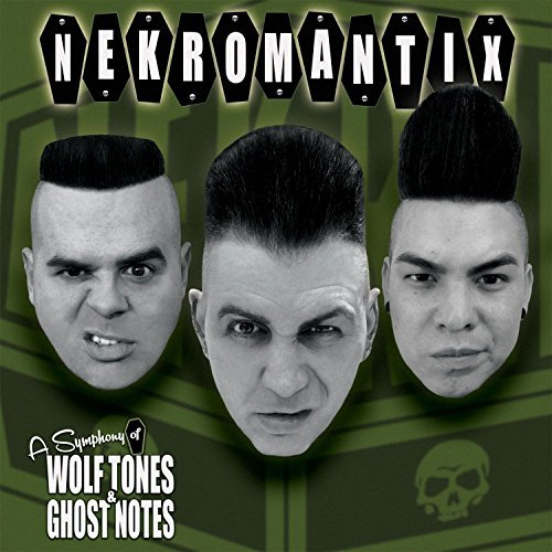 Nekromantix A Symphony Of Wolf Tones Ghost Notes CD Cover