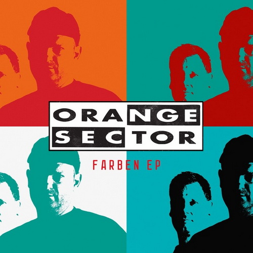 Orange Sector Farben EP CD Cover