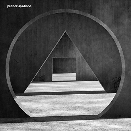 Preoccupations New Material CD Cover