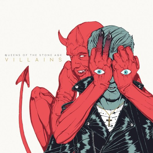 Queens Of The Stone Age Villains CD Cover