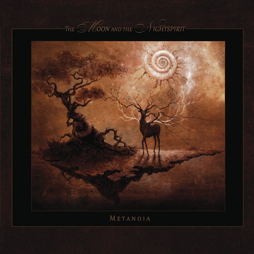The Moon And The Nightspirit Metanoia CD Cover