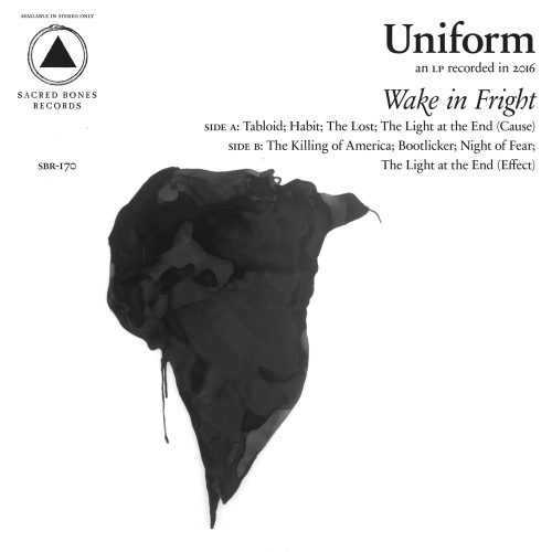 Uniform Wake In Fright CD Cover