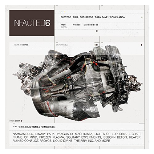 Various Artists Infacted Compilation Vol. 6 CD Cover