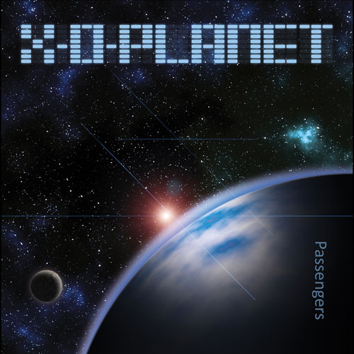 X O Planet Passengers CD Cover