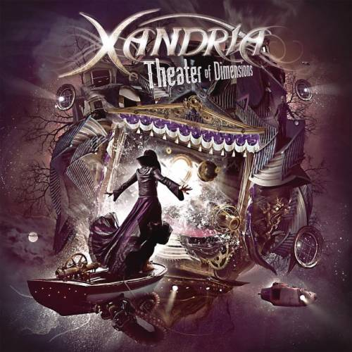 Xandria Theater Of Dimensions CD Cover