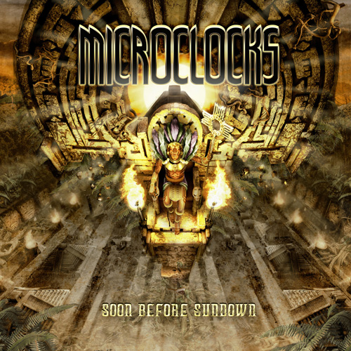 microClocks Soon Before Sundown CD Cover