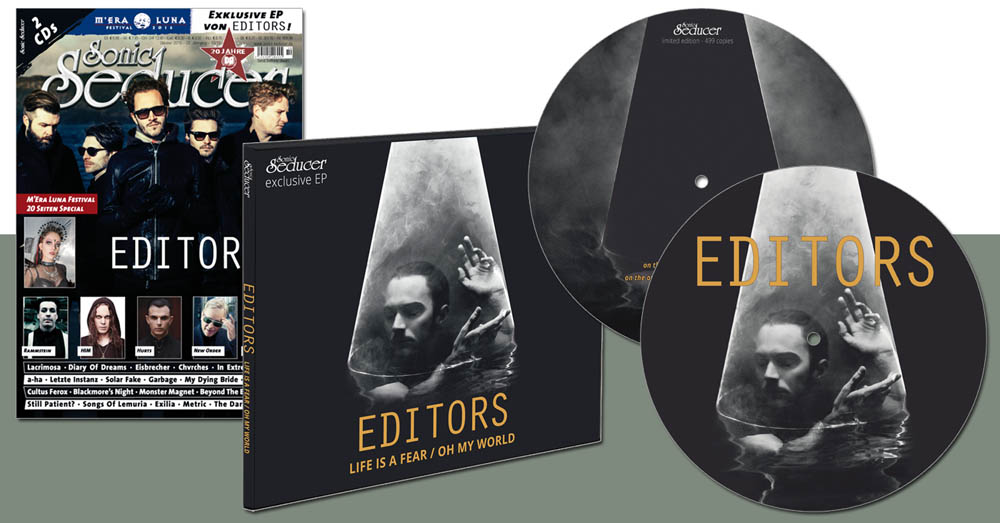 editors life is a fear cd picture vinyl
