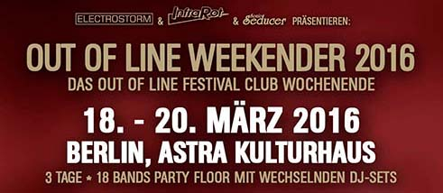 out of line weekender 2016 logo