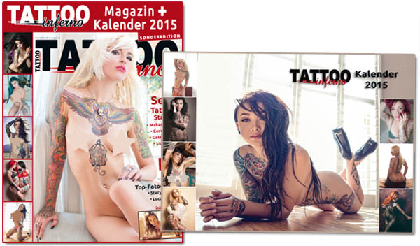 tattoo inferno sonderedition kalender 2015