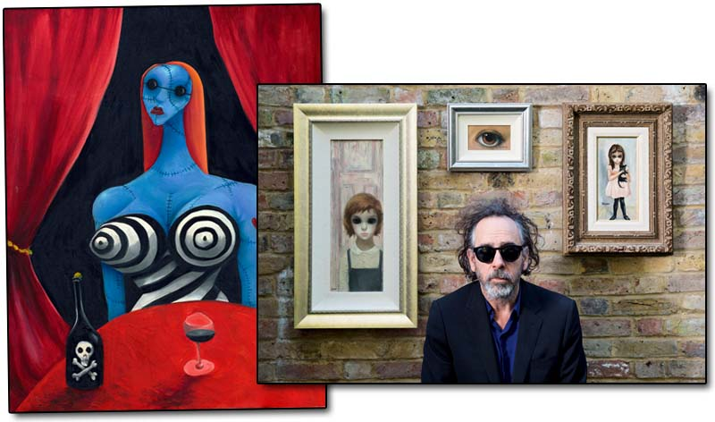 the world of tim burton ausstellung