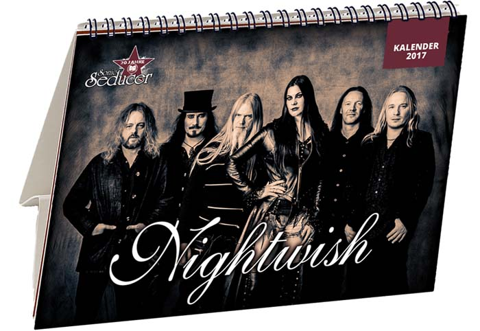 Nightwish Tischkalender 2017