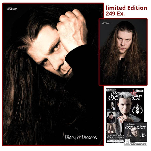 sonic Seducer ltd ed 11 2015 diary of dreams