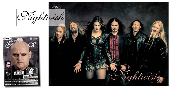 sonic seducer 2016-03 nightwish poster sticker limited