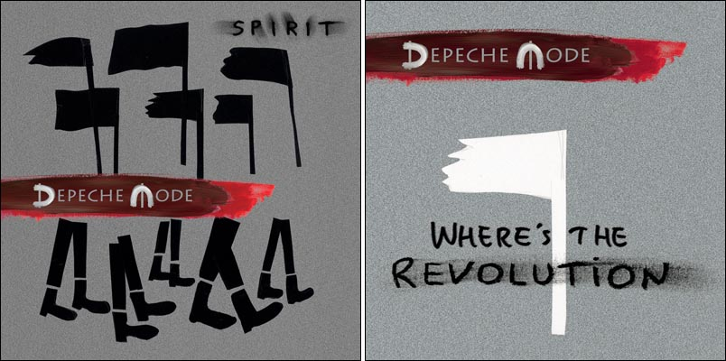 depeche mode spirit wheres the revolution album cover