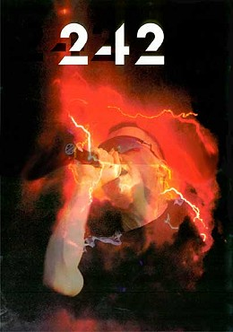 front 242 poster a3