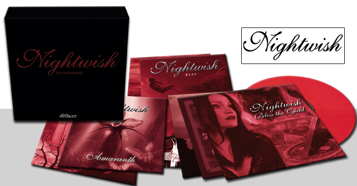 nightwish red passion box limited