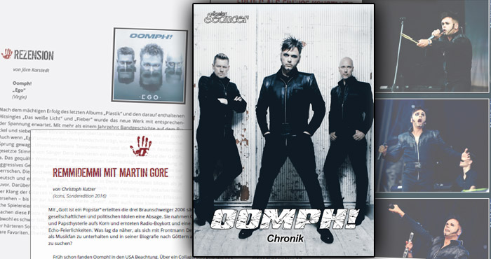 oomph chronik biographie buch