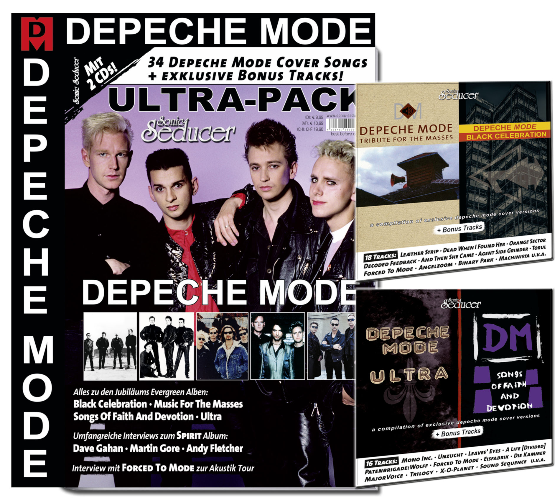 Depeche Mode Ultra Pack Gross