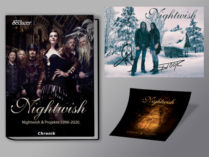 Nightwish Chronik Aufkleber Postkarte Plastisch700