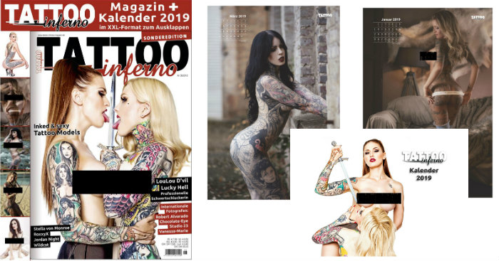 Titelbild Tattoo Inferno News