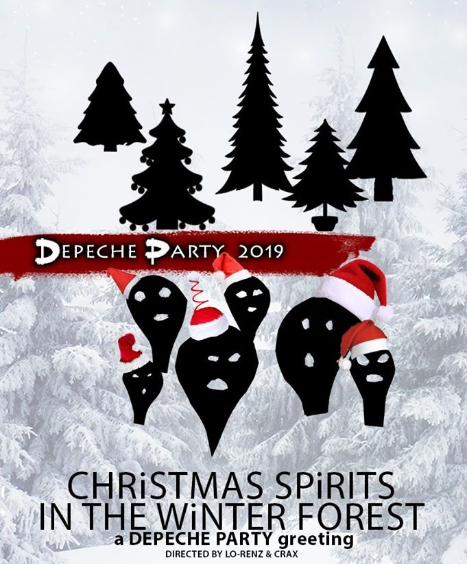 depeche mode party flyer homepage