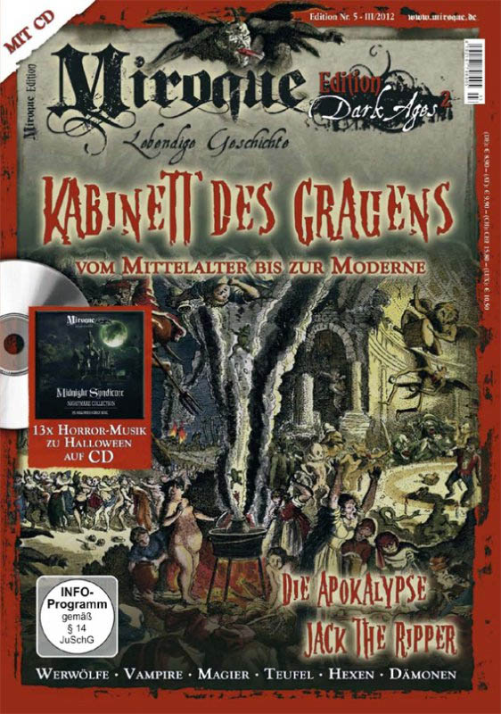 Miroque Edition 5: Dark Ages 2 + 13 Halloween Songs auf CD, Jack the Ripper, Finsteres Mittelalter, Apokalypse