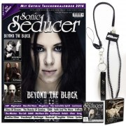 Sonic Seducer 02/2016 limited Edition mit Lanyard