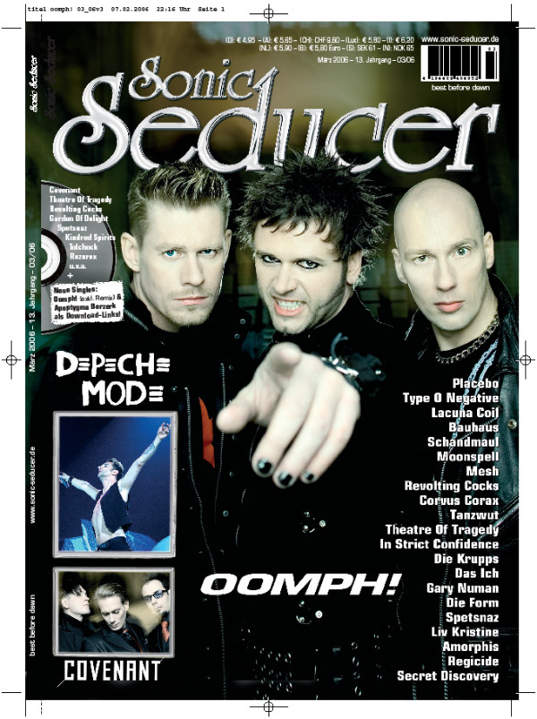 sonic seducer oomph!