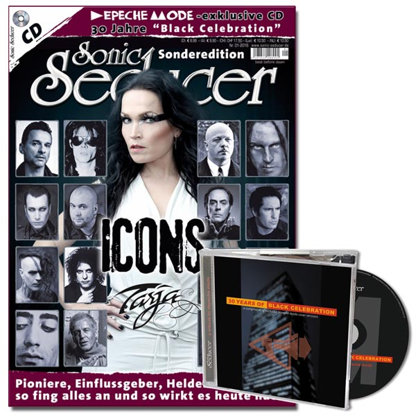 Sonic Seducer Sonderedition ICONS mit Depeche Mode Tribute-CD