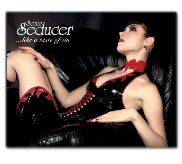 sonic seducer mouse pad like a taste of sin