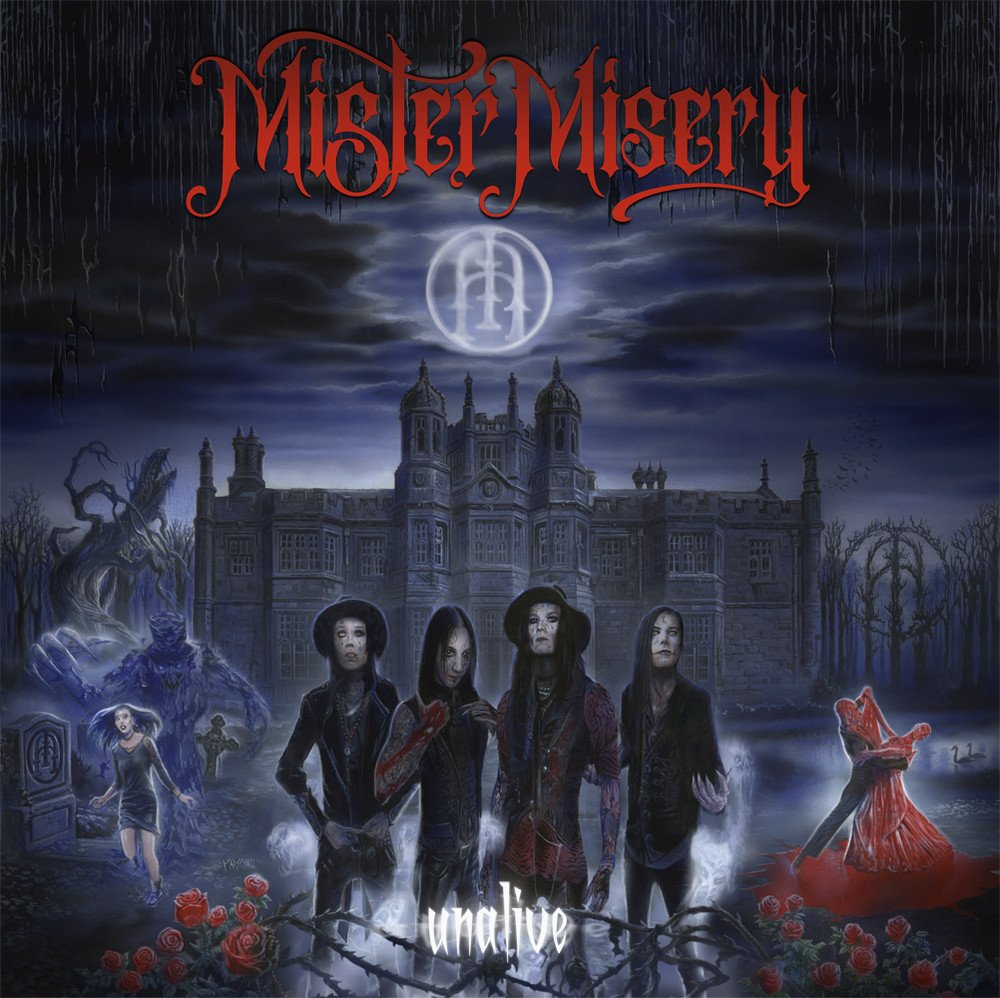 mister misery album cover