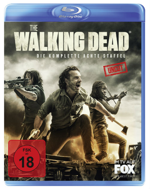 TWD Blu ray Staffel 8