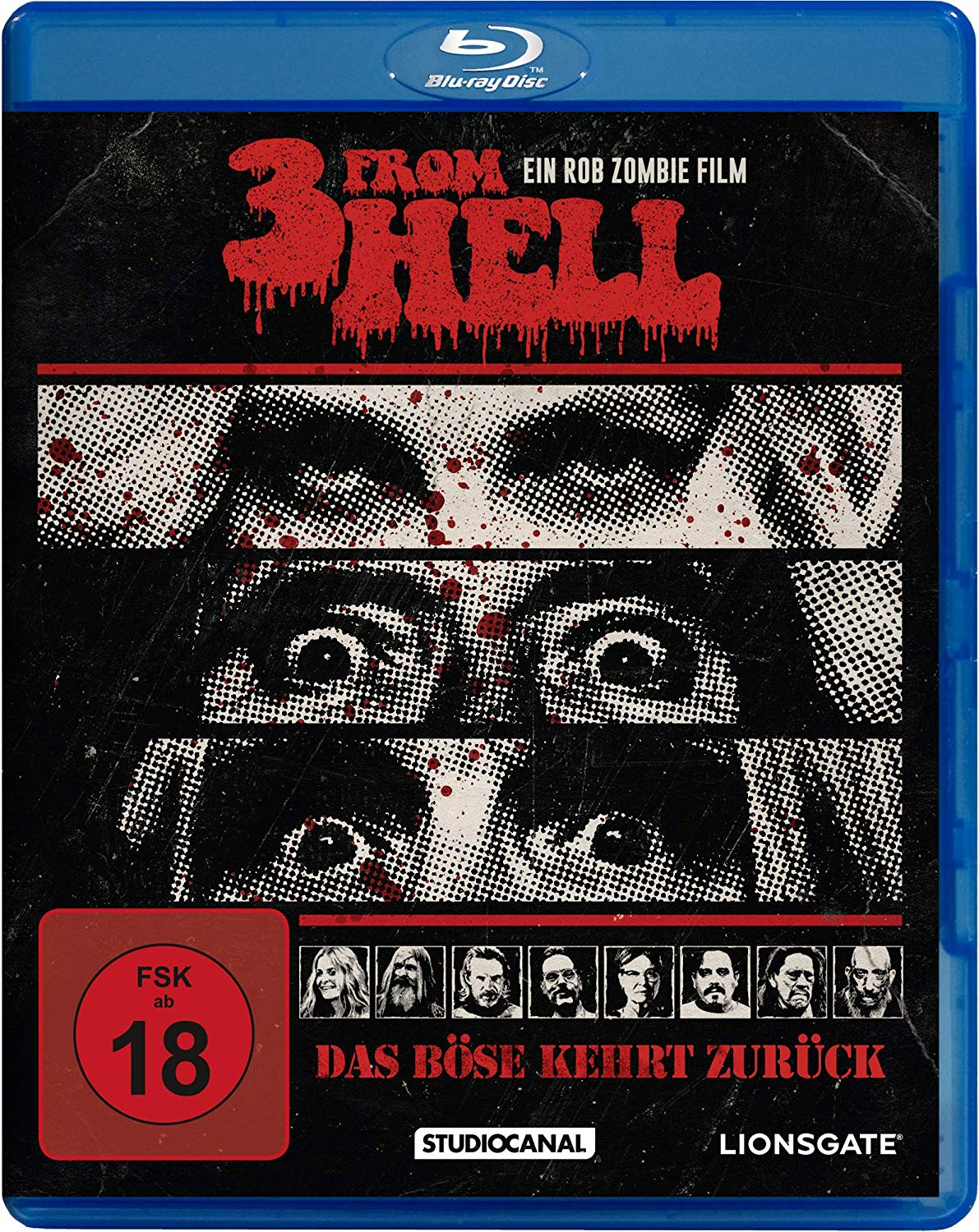 Three From Hell Blu Ray