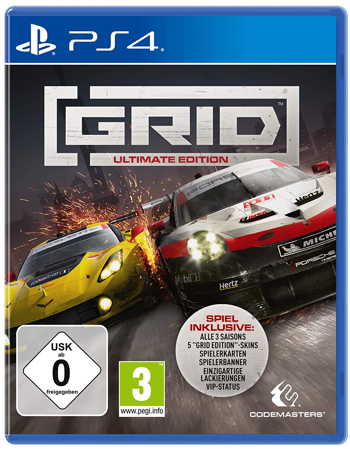 grid ultimate edition Playstation