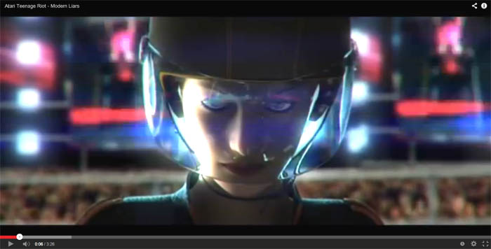 atari teenage riot modern liars video clip