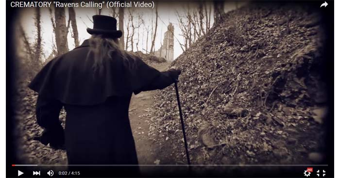 crematory ravens calling video clip