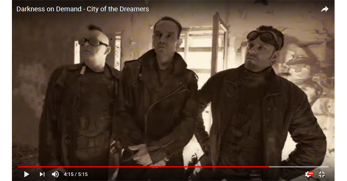 dakrness on demand city of the dreamers video clip
