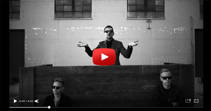 depeche mode wheres the revolution video clip