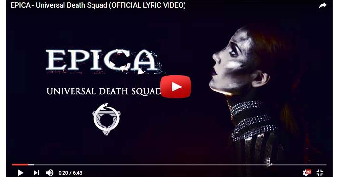 epica universal death squad video clip
