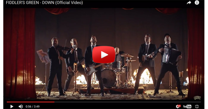 fiddlers green down video clip