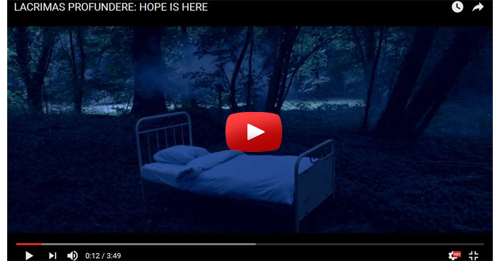 lacrimas profundere hope is here video clip